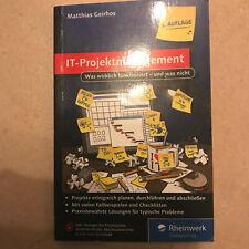 IT-Projektmanagement von Matthias Geirhos (2016, Taschenbuch)