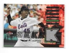 PEDRO MARTINEZ 2007 FLEER ULTRA STRIKE ZONE GAME USED JERSEY ~ REDSOX
