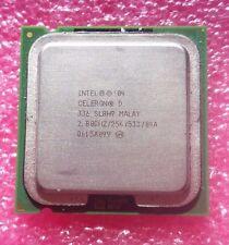 Intel Celeron D 2.80ghz 256kb 533mhz Socket Socket LGA 775 CPU Processor