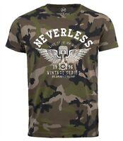 Neverless® Cooles Herren T-Shirt Car  Tuning DesignCamouflage Camo-Shirt