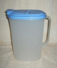 TUPPERWARE ~ Modular Mate 2 Qt Pitcher ~ Blue Seal