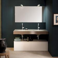 T125 03 – Mobile arredo bagno sospeso L 140 cm personalizzabile COMPAB