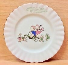 "Royal Albert Mabel Lucie Attwell ""Fairies"" Pattern Side Plate."