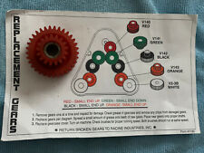 HOST REMTAL MACHINE REPLACEMENT GEAR Red V140