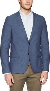 BNWT Hugo Boss Anfred_182 Cotton Blend Slim Fit Sport Coat Size 42L MSRP $495!!