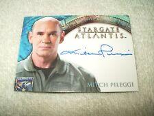 Stargate Atlantis Autograph Card Mitch Pileggi as Colonel Steven Caldwell