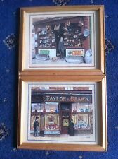 2 X Pictures Of Old Shops