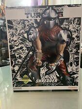 Sideshow Shredder Comiquette Exclusive TMNT Ninja Turtles Statue 360/500