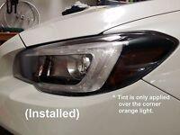 Headlight SideMarker/Parking light overlay (20% Smoke) for 15-20 Subaru WRX STI