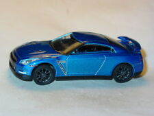 2015 NISSAN GTR R-35 IMPORT COLLECTIBLE DIECAST TOY CAR -Blue, LOOSE