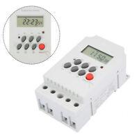 Digital Zeitschaltuhr AC 220V 25A LCD Display Programmierbar Timer OVP Switch