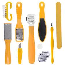 8/10 Pcs Pedicure Tool Set Nail Art Foot Care Exfoliating Skin Tool
