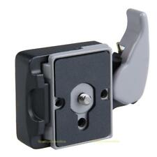 Camera 323 Quick Release Clamp Adapter for Manfrotto 200PL Compat Plate Mount