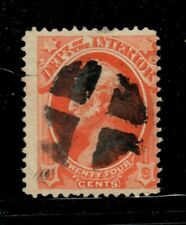 US Stamps Collection - Official - Scott #O22 Used Fancy Cancel $20