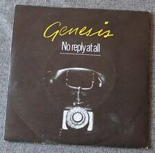 Genesis, no reply at all / Naminanu, SP - 45 tours  France