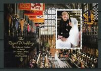 Bahamas Royalty Stamps 2018 MNH Prince Harry & Meghan Royal Wedding 1v M/S