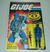 MODERN BLACK MAJOR Figure GI Joe Cobra Soldier Complete Sealed File Card Back