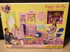 Barbie-Happy Family-Midge Nursery Play Set For Nikki and Ryan