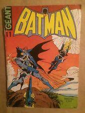 BATMAN GEANT (Sagedition) - T11 : novembre - décembre 1974