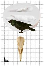 Silicone Mould Raven & Skull | Food Use FPC Sugarcraft FREE UK shipping!