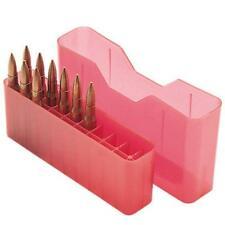 MTM Case-Gard Slip Top Rifle Ammunition Ammo Storage Box 20 Rounds J-20-L-29 Red