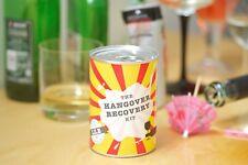 'HANGOVER' Recovery Kit - Novelty gag / joke / prank / gift tin - ALCOHOL RELIEF