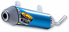 KTM 250 300 SX XC EXC-F '17-18 FMF POWERCORE 2.1 TITANIUM SHORTY BLUE  025214