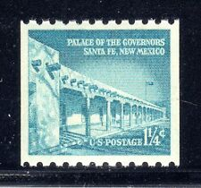 U.S. STAMP #1054A COIL 1.25c PALACE— XF-SUPERB — MINT - GRADED 95