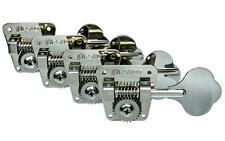 HIPSHOT HB2 Bass Guitar Tuners for FENDER Bass, Nickel HB-2