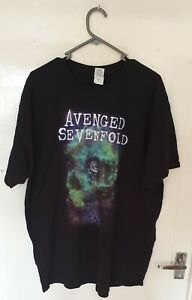 Official Avenged Sevenfold T Shirt The Stage band logo A7X HXC