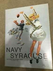 FM9-14 1981 SYRACUSE vs NAVY College Football Program