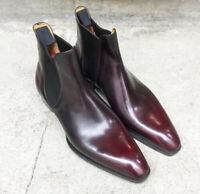 Men's Chelsea boots black Ankle Chelsea boots, men's Canada leather for Men's