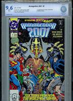Armageddon 2001 #1 DC Comics CBCS Graded 9.6 NM+ 1991 1st Waverider