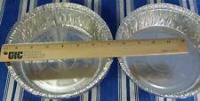 "80 Pcs 7"" Round Aluminum Foil Pan Disposable Baking Containers Plates Free Ship"
