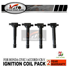 Ignition Coil for Honda Civic Accord Euro Integra CR-V Odyssey S2000 Set of 4