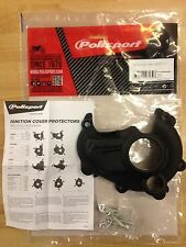 YAMAHA YZF 250  2014-2018 IGNITION COVER PROTECTOR GUARD BLACK