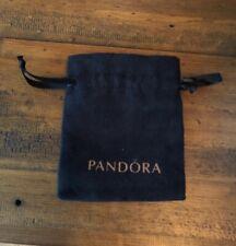 Pandora Black Velvet Gift Pouch Bracelet Bangle Gift Bag Free Postage