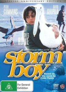 STORM BOY - AUSTRALIAN ALL TIME CLASSIC - NEW & SEALED REGION 4 DVD