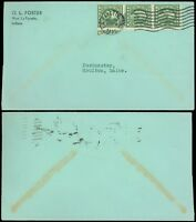 1936 or 1938, LAFAYETTE IND Cds, O.L. Foster C/C, Late Use Strip/3 Wash Franklin