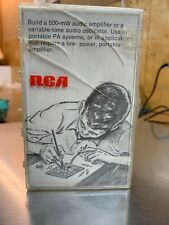 RCA Electronic Kit 500 mW Amplifier / Oscillator  Vintage Unbuilt Electrical Kit