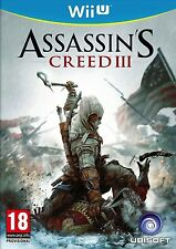 Jeu Wii U Assassin's Creed III Ubisoft occasion