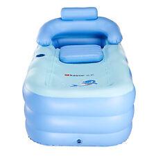 New Blowup Adult Spa PVC Folding Portable Bathtub Warm Inflatable Bath Tub yw