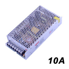 110-220V 120W DC 12V 10A Transformateur LED Alimentation Adaptateur pr bande LED