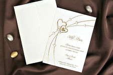 100 BLANK WEDDING INVITATION WITH ENVELOPE (30086)