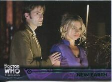 Doctor Who Timeless Green Parallel Base Card #46 New Earth