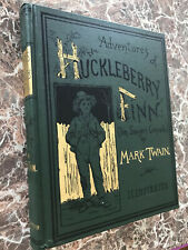 Adventures of Huckleberry Finn, Fine Facsimile of 1885 First Edition