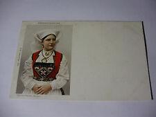 K309 - c1902 HARDANGERKONE Sostrene Persen Bergen DANISH POSTCARD Denmark