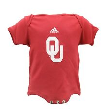 Oklahoma Sooners Official Adidas Baby Infant Size Creeper Bodysuit New with Tags