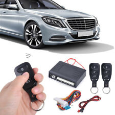 Car Door Lock Keyless Entry System Remote Central Locking Remote Controllers Kit