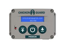 ChickenGuard Automatic Chicken Coop Pop Door Opener & Door Kit Combo